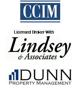 CCIM | Licensed Broker with Lindsey & Associates, Inc. | Dunn Property Management